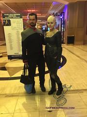 Star Trek  convention 2016-8 (GoFreak Media) Tags: lasvegas startrek star trek convention gofreakmedia data spock klingon thenextgeneration kirk jonjonthephenomenon