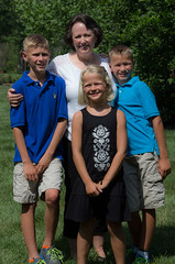 Jack's wife and grandkids