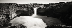 Aldeyjarfoss (Robin SS Lee) Tags: aldeyjarfoss iceland waterfall canon tse 24mm panoramic stitch explore landscape bw