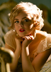 Timeless (Joe Ascioti) Tags: canon 5d 85mm model photography photoshoot lighting beautiful timeless vintage retro old hollywood golden age portrait closeup 1950s inspired actress