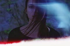 (Juliet Alpha November) Tags: fuji fujicolor pro 160 ns analogue analog film rollfilm medium format mittelformat 120 645 misstake fehler outdoor portrait portrt hair haar face gesicht bokeh model salvaje jan meifert
