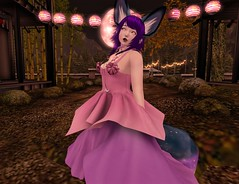 Magical Space Fox 1 (The_Glimmerling) Tags: doki tsg cute secondlife magical mesh anime moon festival hatterthemad souledout moonfestival kawaiiwhore {lovefox} gacha