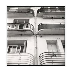 balconies  sete, france  2016 (lem's) Tags: balconies balcons architecture art deco sete france zenza bronica s2