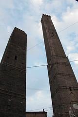 Towers (sarakahsay) Tags: bologna towers asinelli garisenda photo photography sky mycity love centrostorico colour
