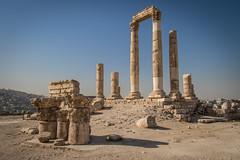 Temple of Hercules I (andryn2006) Tags: amman citadel jabalalqalaa jordan templeofhercules roman ruins ammangovernorate