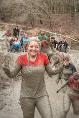 victory (stevefge) Tags: berendonck viking strongviking mud people candid event sport fun endurance smile girls girl v victory nederland netherlands nederlandvandaag reflectyourworld