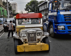 HL8A3936 (deepchi1) Tags: manilla phillippines asia pacific islands urban city jeepneys taxis jeeps traffic
