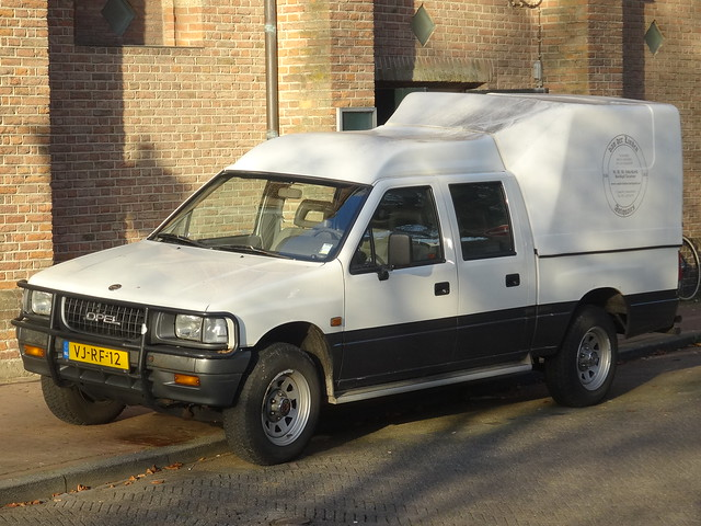 netherlands nederland pickup campo opel amersfoort isuzu 2014 grijskenteken sidecode5 vjrf12