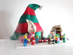Magical goings on at Santa`s Lego Workshop (annrushworth) Tags: christmas santas lego elf workshop elves minifigures