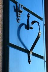 Heart - that's amore! (Rana Saltatrice) Tags: shadow love window handle eos reflex heart balcony ombra finestra fantasy fantasia romantic cuore amore balcone riflesso maniglia canon100d