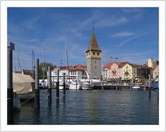 Mangturm / Hafen Lindau (Harald52) Tags: deutschland lindau hafen bodensee mangturm