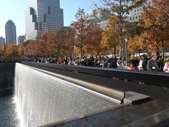 9/11 Memorial and Park on an Autumn Day, Lower Manhattan, New York City (lensepix) Tags: newyorkcity autumn autumncolors lowermanhattan 911memorial