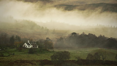 a-very-short-morning (Dove*) Tags: november trees house mist scotland inverpolly