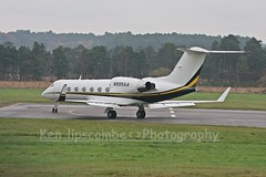 N999AA Gulfstream GIV c/n 1286 Ascend Performance Materials (EGLF) 16/11/2014 (Ken Lipscombe <> Photography) Tags: ascend