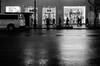 Uniqlo (JoelZimmer) Tags: blackandwhite newyork unitedstates manhattan midtown citygrid 24mmf28 nikond7000