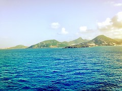 One of the many Islands in the Caribbean.