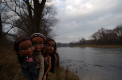 Sasha! (Medithanera) Tags: winter landscape early doll sasha mga aa bratz
