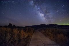 Pathway to the Stars (Matt Granz Photography) Tags: california sky night stars monolake milkyway