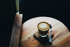 Coffee and Geometry (Liandro N. I. Siringoringo) Tags: coffee canon cafe geometry 5d