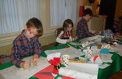 Regan Cousins at the Craft Table