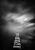 Silence (ilias varelas) Tags: longexposure light blackandwhite bw mist monochrome fog clouds reflections mono pier mood greece ilias canonef1740mmf4l varelas canoneos6d