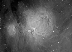 M42 Orion Nebula (Andre vd Hoeven) Tags: nebula astrophotography orion m42 deepsky astrometrydotnet:status=solved astrometrydotnet:id=nova949191