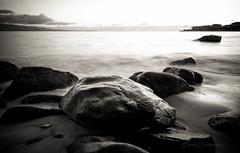 = dark rocks = (serguei.cacciaguerra) Tags: ocean sunset sea blackandwhite france beach saint rock french nikon rocks corse corsica nikkor ajaccio plage bastia saintfrancois calve aiacciu nikonfrance nikonfr