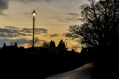 Road To Roslin, Midlothian (Colin Myers Photography) Tags: old winter sunset sun green colin set photography scotland countryside warm historic rosslyn lush scottie mid lothian myers midlothian roslin rosslynchapel roslinglen colinmyersphotography