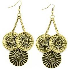 5th Avenue Brass Earrings P5031A-1