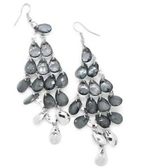5th Avenue Silver Earrings P5220-4