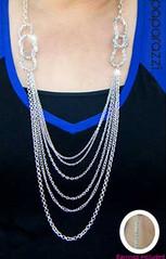 5th Avenue Silver K2 Necklace P2220-2