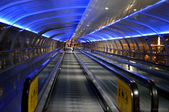 Manchester Airport Walkway (Bri_J) Tags: airport nikon walkway travellator manchesterairport d3200