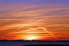 January Sunset (BrandonWaterfield) Tags: sunset sky colors clouds nc head north january carolina outer banks obx nags 2015