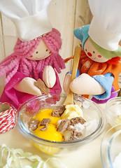 Misture todos os ingredientes da massa e amasse até desgrudar das mãos. (Ateliê Bonifrati) Tags: christmas cute natal diy cookie craft tutorial pap receitas passoapasso bonifrati biscoitosdenatal craftchristmas
