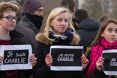Je suis Charlie, Grenoble (Alexandre Carpentier) Tags: france grenoble charlie manifestation rhnealpes marcherpublicaine jesuischarlie
