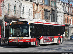 Toronto Transit Commission #1593 (vb5215's Transportation Gallery) Tags: toronto ttc transit orion ng 2008 commission vii hev