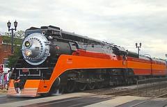 When the SP Daylight (Chicago Rail Head) Tags: daylight illinois lima northern southernpacific steamlocomotive 484 passengertrain trainfest onthewaytomichigan bnsfracetrack makesstop westernssprings