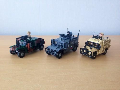 Humvee/Gaz Tigr/Snatch Land Rover