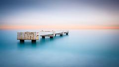 Solitude (jpmiss) Tags: 1635mm 6d colors cotedazur couleurs longexposure nd1000 nd110 nice pier poselongue canon filtrefilter frenchriviera jpmiss mer mood ponton prommenadedesanglais sea silkywater smooth soft provencealpescôtedazur france