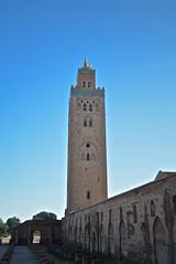 Koutoubia Mosque (Victoria Lea B) Tags: minaret muslim islam morocco marrakech koutoublamosque