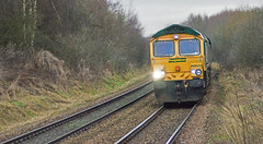 Freightliner 66620 at Langwith (thestig2) Tags: uk robin modern derbyshire go shed january 7 rail railway line round hood merry coal railways 7th mgr colliery thoresby freightliner 2015 langwith 66620