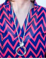 5th Avenue Grey Necklace K4 P2240A-2