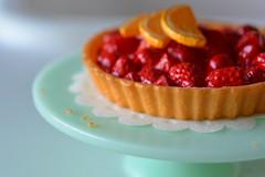 The Amazing Snoopy Strawberry Pie (ankanka) Tags: orange dinner pie strawberry american snoopy rement slices