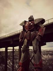 Stark Industries Turn A City Defender (Geek Creek) Tags: toys ironman robots actionfigures twinfallsidaho toyphotography turnagundam valerobots