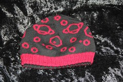Wollmeise Cheesehead Hat - Solar System (tinksdarkerside) Tags: hat knitting double cheesehead laris doubleknitting wollmeise