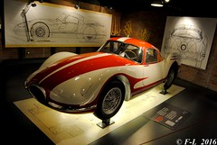 Fiat Turbina 1954 - Mauto Turin 1954 (Ferrari-live / Franck@F-L) Tags: fiat 1954 turin turbina 2016 mauto