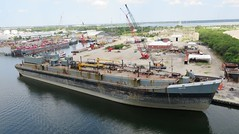 Barge Yucatan (Hear and Their) Tags: tampa bay florida ybor channel