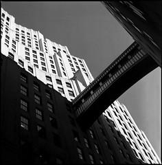 First light (RafaelGonzalez.) Tags: nyc blackandwhite newyork 6x6 film architecture zeiss mediumformat shadows analogue carlzeiss ilfordhp5plus hasselblad500cm rafaelgonzalez