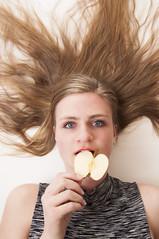 20160423_5398edit (Hatleskog photography) Tags: portrait people apple girl beauty fruit youth photoshop hair studio eyes nikon pretty photoshoot young experiment indoor poison edit intese fruitoshoot