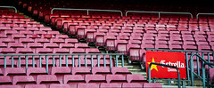 Ms que un club (marco.giordana) Tags: barcelona travel red urban holiday beer lines wow grey football big nikon zoom stadium soccer details diagonal particular estadio huge catalunya fans es emotions campnou estrella noucamp supporters barcelone stadio ultras catalogna liga d90 fav10 nikonist